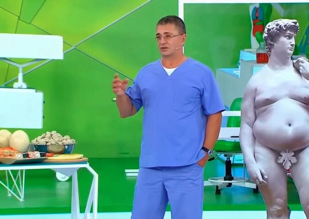 """Лишний вес не только вреден, но и ...полезен: мнение доктора Мясникова в эфире телеканала """"Россия 1"""""""