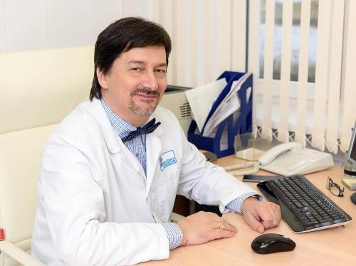 Кабинет кардиологии. Главный врач клиник Богунович  Б.Д.